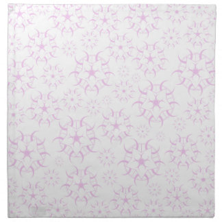 ピンクの穀物の円 ナプキンクロス
