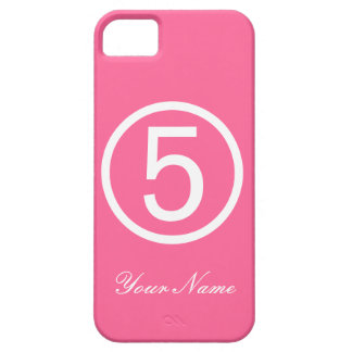 ピンクの第5場合 iPhone SE/5/5s ケース