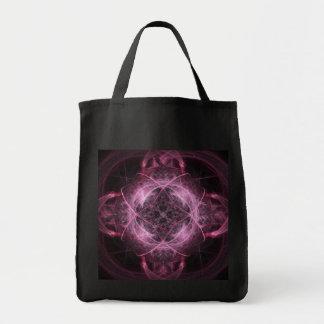 ピンクの精神異常のトートバック トートバッグ