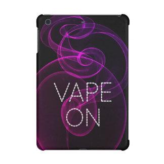 ピンクの紫色のグランジな煙のVape
