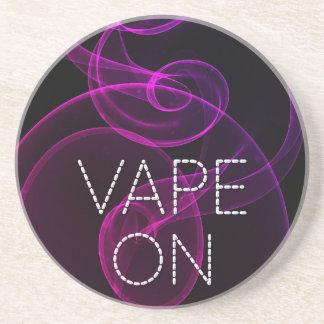 ピンクの紫色のグランジな煙のVape コースター