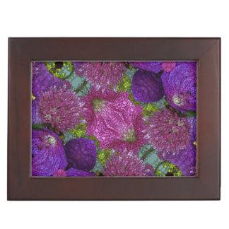 ピンクの紫色の抽象芸術 宝箱