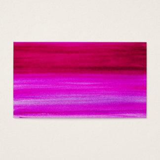 ピンクの紫色の水彩画の明るい赤紫色の抽象芸術の背景 名刺