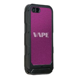 ピンクの紫色のVape ウォータープルーフiPhone SE/5/5sケース