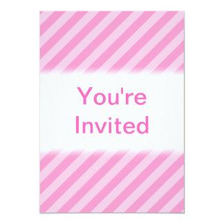 ピンクの縞 カード