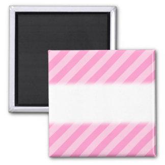 ピンクの縞 マグネット