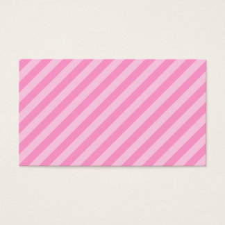 ピンクの縞 名刺