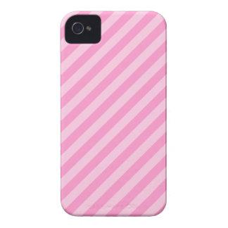 ピンクの縞 Case-Mate iPhone 4 ケース