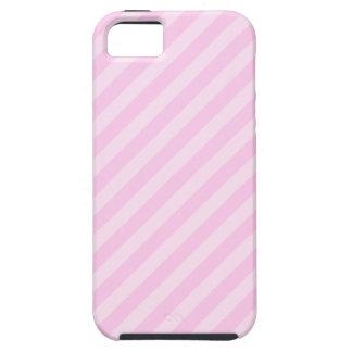 ピンクの縞 iPhone SE/5/5s ケース