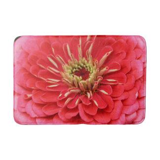 ピンクの美しいの花 バスマット