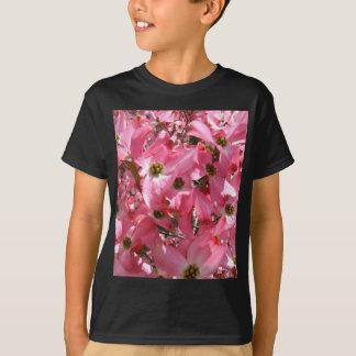ピンクの群集 Tシャツ