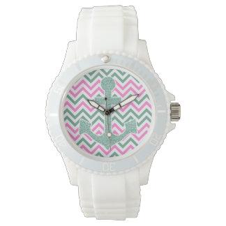 ピンクの航海のな腕時計 リストウォッチ