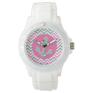 ピンクの航海のな腕時計 腕時計