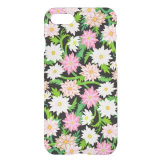 ピンクの花の庭によってはiPhone 7の箱が開花します iPhone 8/7 ケース
