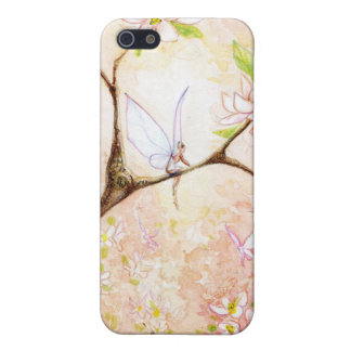 ピンクの花の眺め iPhone 5 CASE