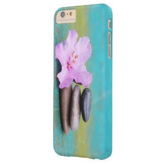 ピンクの花の禅の石 BARELY THERE iPhone 6 PLUS ケース