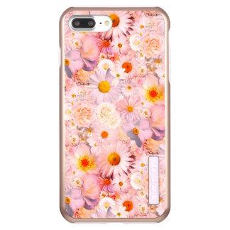 ピンクの花の花束の花の結婚式の花嫁の春 INCIPIO DualPro SHINE iPhone 8 PLUS/7 PLUSケース