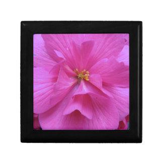 ピンクの花の閉めて下さい ギフトボックス