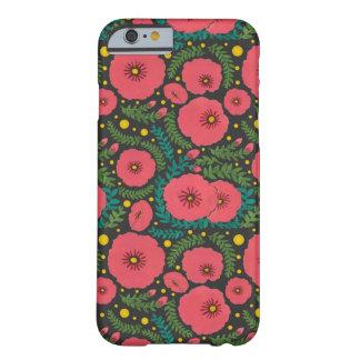 ピンクの花の開花 BARELY THERE iPhone 6 ケース