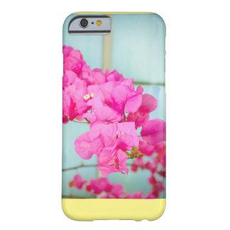 ピンクの花の電話箱 BARELY THERE iPhone 6 ケース