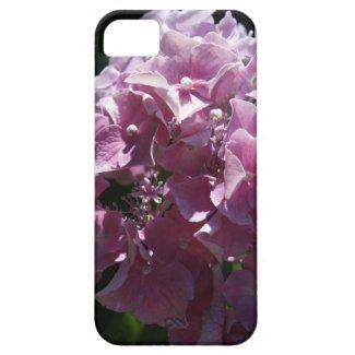 ピンクの花のiPhoneの場合 iPhone 5 カバー
