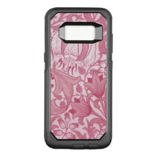 ピンクの花のsamsungの銀河系S8のオッターボックスの場合 オッターボックスコミューターSamsung Galaxy S8 ケース