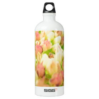ピンクの花壇 ウォーターボトル