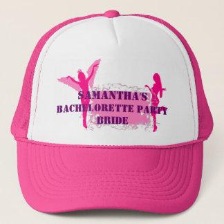 ピンクの花嫁のバチェロレッテ キャップ