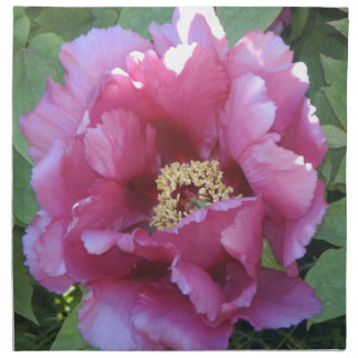 ピンクの花柄 ナプキンクロス
