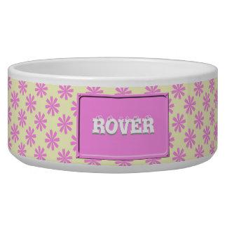 ピンクの花模様