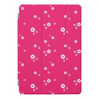 ピンクの花模様 iPad PROカバー