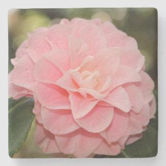 ピンクの花 ストーンコースター