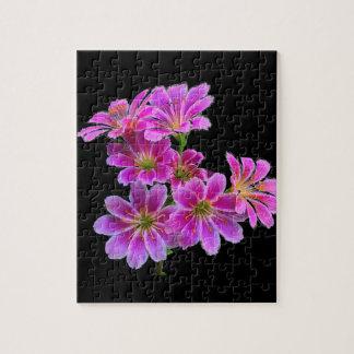 ピンクの花-パズル ジグソーパズル