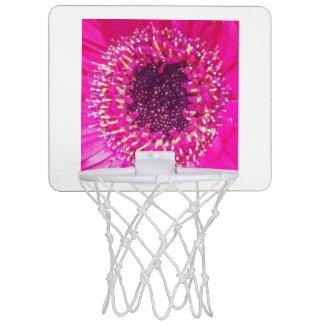 ピンクの花 ミニバスケットボールゴール