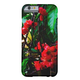 ピンクの花 BARELY THERE iPhone 6 ケース