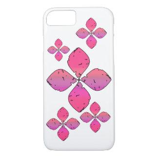 ピンクの花 iPhone 8/7ケース