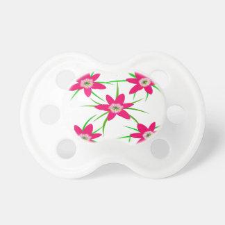 ピンクの草の花 おしゃぶり