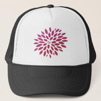 ピンクの菊 キャップ