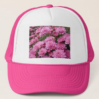 ピンクの菊#2の海 キャップ