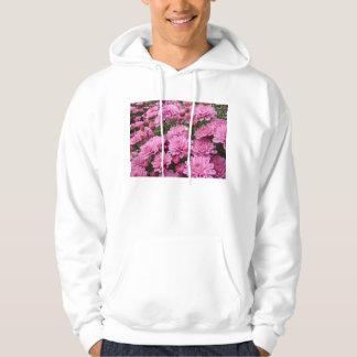 ピンクの菊#2の海 パーカ