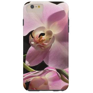 ピンクの蘭のiPhone6ケースの携帯電話カバー Tough iPhone 6 Plus ケース