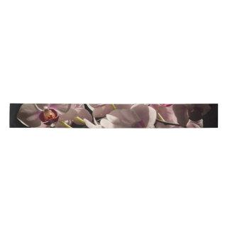 ピンクの蘭 サテンリボン