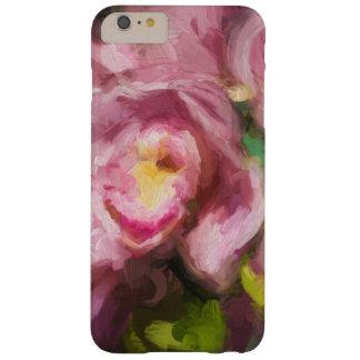 ピンクの蘭Impasto Barely There iPhone 6 Plus ケース