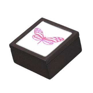 ピンクの蝶 ギフトボックス