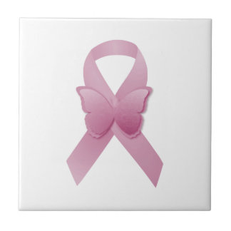 ピンクの認識度のリボン タイル