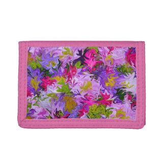 ピンクの財布の色の花束