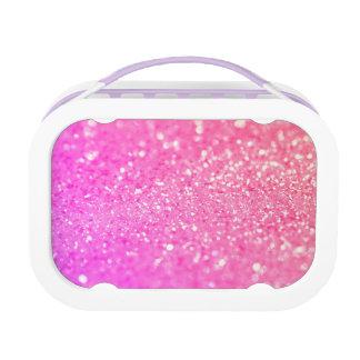 ピンクの贅沢なダイヤモンド ランチボックス