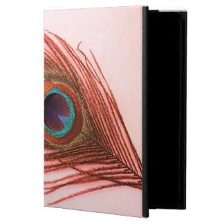 ピンクの赤い孔雀の羽 POWIS iPad AIR 2 ケース