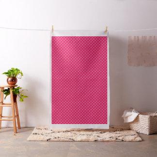 ピンクの足はパターン綿織物を印刷します ファブリック