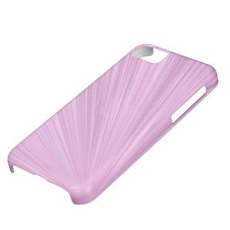 ピンクの輝やきの背景 iPhone5Cケース